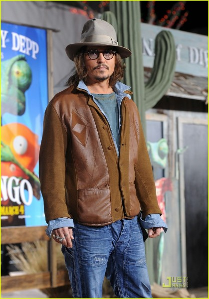 25 O estilo de Johnny Depp