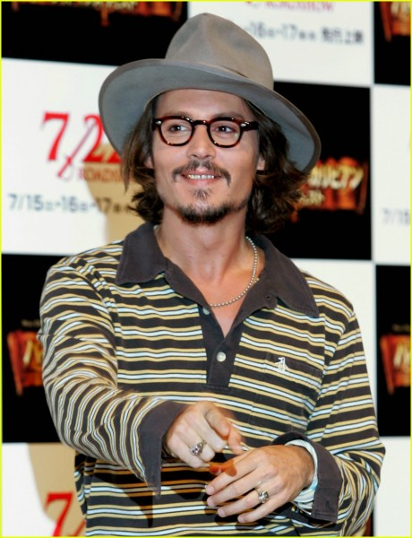 28 O estilo de Johnny Depp