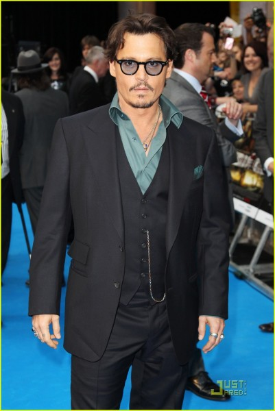 34 O estilo de Johnny Depp